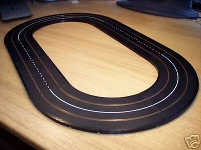 Triang Minic Motorways Lined Black Track Circuit