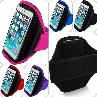 Sports Armband Case Phone Holder Gym Running Jogging Strap For Various Phones