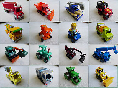 Learning Curve Bob the Builder Metal Vehicle Toy Cars New Loose