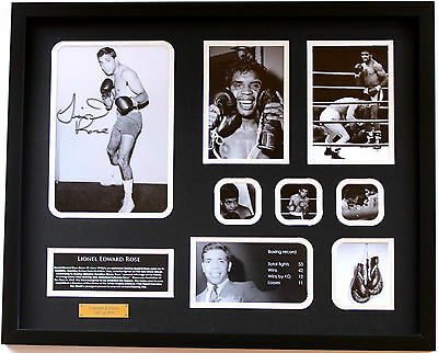 New Lionel Rose Signed Limited Edition Memorabilia