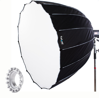 Hexadecagon Flash Studio Diffuser Umbrella Softbox 90cm With Bowens Mount + Bag