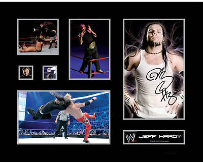 New Jeff Hardy Signed Limited Edition Memorabilia Framed