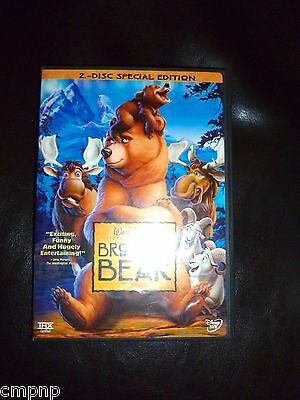 Walt Disney BROTHER BEAR (DVD 2004 2-Disc Set Special Edition) IN ORIGINAL CASE