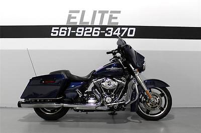 Harley-Davidson : Touring 2012 harley street glide flhx video 252 a month rinehart abs low miles 103 wow