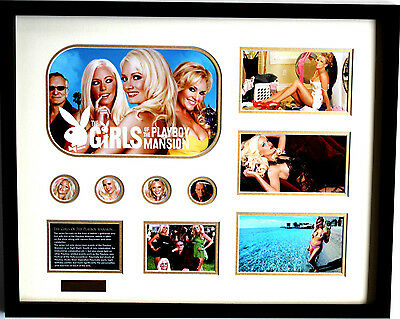 New Girls of the Playboy Mansion Limited Edition Memorabilia Framed