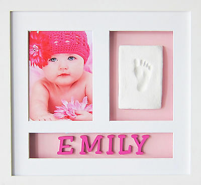 Babypie Babyprint Personalised Wall Frame - Pink