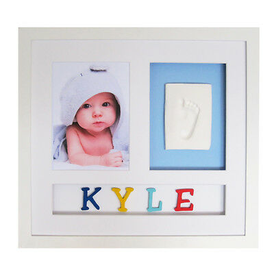 Babypie Babyprint Personalised Wall Frame - colored letters