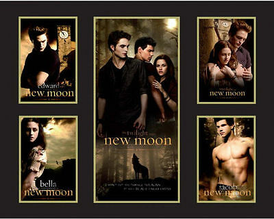 New Twilight New Moon Limited Edition Memorabilia Framed