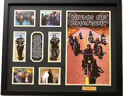 New Sons of Anarchy Limited Edition Memorabilia Framed