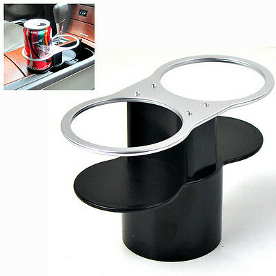 Deluxe Universal Car Double Wedge Between Seat Dual Drink Cup Holder For Drinks