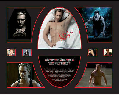 New True Blood Alexander Skarsgard Signed Limited Edition Memorabilia Framed