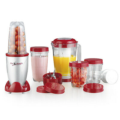 GOURMETmaxx Mr Magic Standmixer Smoothie Maker Obst Entsafter Saftpresse Mixer