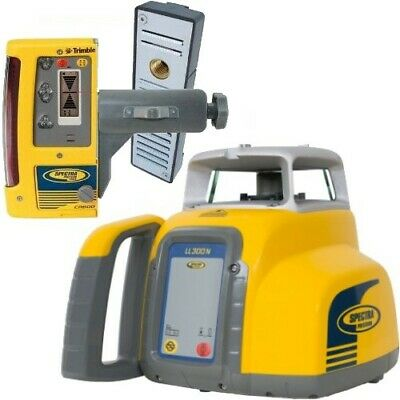 Spectra Trimble LL300N-10 Self Leveling Laser Level with CR600 Receiver