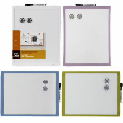 28x36cm Wall Mountable Magnetic Whiteboard White Board w Marker Home Office