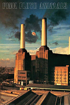 PINK FLOYD ANIMALS POSTER - 24x36 CLASSIC ROCK BAND MUSIC 9377
