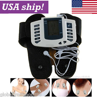 USA!Digital Tens Pulse Acupuncture Therapy Stimulator Body Muscle Relax Massager