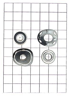 Leathercraft Hardware Silver Lift the Dot Fastener for Leather 22mm x 20mm