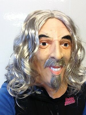 Billy Connolly Latex Mask Big Yin Comedian Scotland Celebrity Fancy Dress Stars