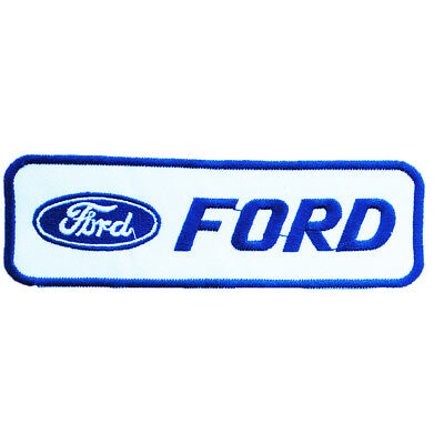 classic Ford Car Motor Racing Badge Patch Embroidery Sew-On DIY free shipping