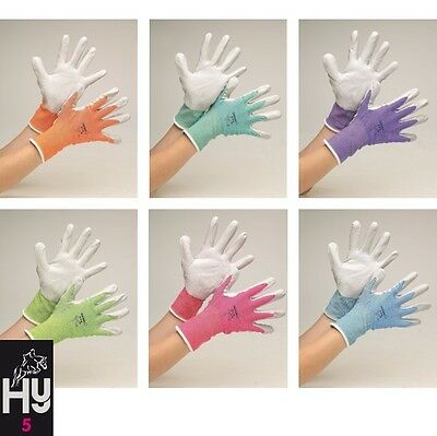 Hy5 Multipurpose Stable Glove – 5 SIZES – 7 COLOURS – Mucking Out Yard Horse
