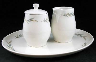 """Syracuse LYNNFIELD Platter 11"""", Creamer & Sugar Bowl with Lid GREAT CONDITION"""