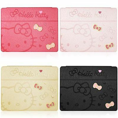 Hello Kitty Cute Bow Leather Stand Case Cover For iPad Mini Hot Pink Or Black