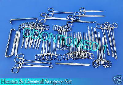 48 Piece Hernia Set - General Surgery Medical Instruments DS-995