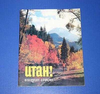 Nice Vintage Utah Discovery Country Travel Brochure