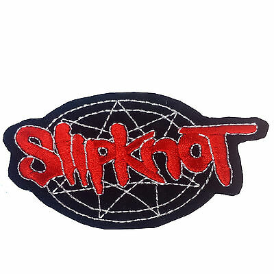 SLIPKNOT Embroidered Rock Band Iron On or Sew On Patch UK SELLER Patches