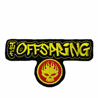 Sew On Patch UK SELLER Patches 9.5x8.5cm TRIVIUM Embroidered Rock Band Iron On