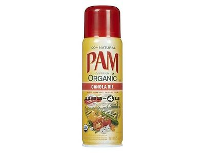 PAM Organic Cooking Spray Canola Öl USDA