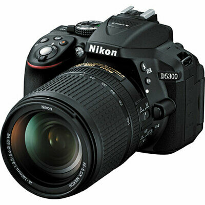 Nikon D5300 24.2 MP CMOS Digital SLR Camera w/ Nikon 18-140mm  VR Lens Brand New
