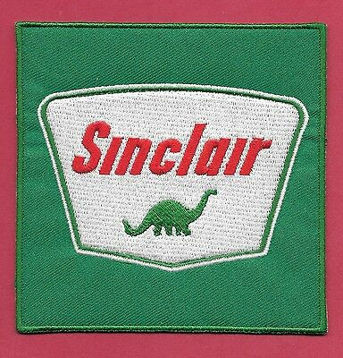 "New Early Sinclair Gas 'Dino'  4 X 4""  Inch Iron on Patch Free Shipping"