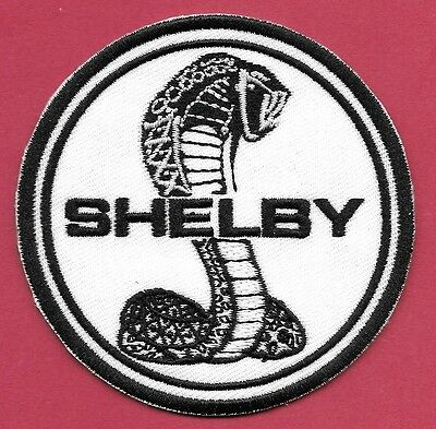 "New Ford Shelby ' Cobra' 3""   Inch Iron on Patch Free Shipping"