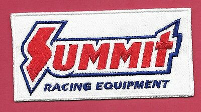 "New Summit Racing Equipment 2 X 4 ""  Inch Iron on Patch Free Shipping"
