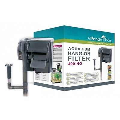 Hang On External Filter Aquarium Fish Tank All Pond Solutions HO Range NEW