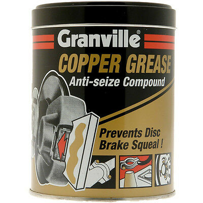 Granville Copper Multi Purpose Grease 500g Anti-Seize Assembly Compound Tin