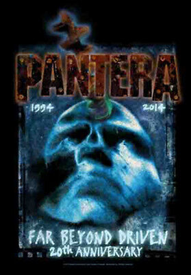 "PANTERA ""FAR BEYOND 20th ANNIVERSARY"" Fabric Poster Oversized 30""X40"" Poster NEW"