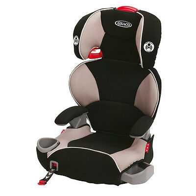 Graco Affix Highback Booster Car Seat with Latch System - Pierce - Free Ship!