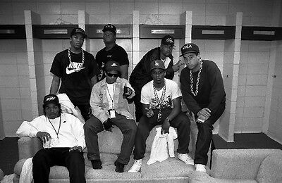 NWA NIGG/& W ATTITUDE Hollywood Celebrity Poster TV Movie Poster 24 in by 36 in 1