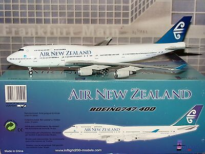 InFlight 200 Air New Zealand B747 -400 ZK-SUH 1/200 **Free S&H**