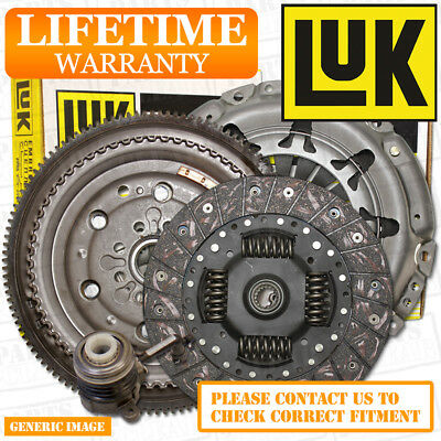 VW TIGUAN 2.0 TDi 4motion LUK Flywheel & Full Clutch Kit 140 09/07- CBAB CFFB