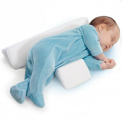 HIbaby Newborn Baby Sleep Positioner Infant Anti Roll Cushion Two Wedge Pillow