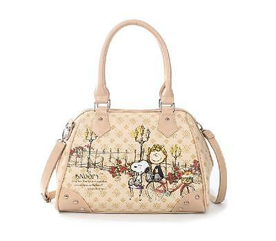 New !Lovely peanut snoopy quality goods female cartoon shoulder bag / handbag