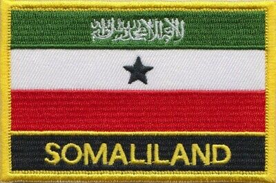 Somaliland Flag Embroidered Patch Badge  Sew or Iron on