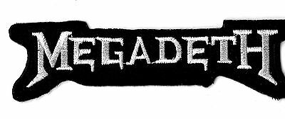 NEW 2 X 4 INCH MEGADETH IRON ON PATCH FREE SHIPPING