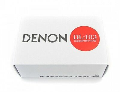 Brand New-Denon Dl-103 Moving Coil Mc Phono Cartridge With Stylus Dl103
