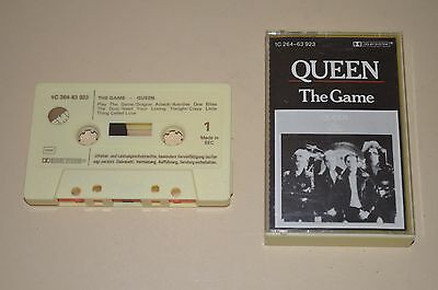 Queen - The Game / EMI 1980 / Rares Tape