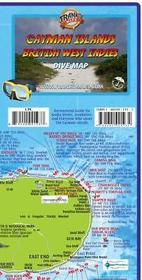 Cayman Islands Dive & Adventure Guide Map Waterproof by Franko Maps
