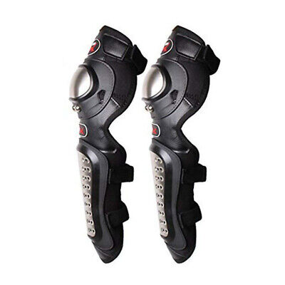 Knee Pads Motorbike Racing Motocross Protector Guard Protective Cycle Gear Black